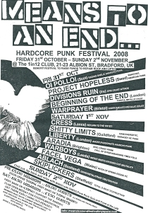 MTAE 2008 flyer